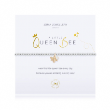 Joma Jewellery A Little QUEEN BEE Silver Plated Beaded Bracelet